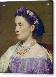Duchess De Fitz-james Acrylic Print by Henri Fantin-latour