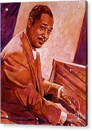 Duke Ellington Acrylic Print by David Lloyd Glover