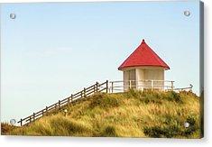 Dune Pavilion Acrylic Print by Wim Lanclus