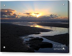 Dunraven Or Southerndown Bay South Wales Acrylic Print by James Brunker