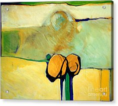 Early Blob 2 Jump Rope Acrylic Print by Marlene Burns