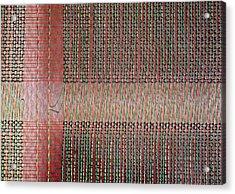 Early Mainframe Art Acrylic Print by Rona Black