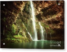 Early Morning At Dripping Springs Acrylic Print by Tamyra Ayles