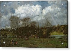 Early Spring Acrylic Print by Hans Thoma