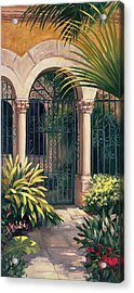 East Gate Acrylic Print by Laurie Hein
