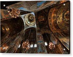 Ecclesiastical Ceiling No. 2 Acrylic Print by Joe Bonita
