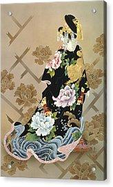 Echigo Dojouji Acrylic Print by Haruyo Morita