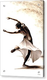 Eclectic Dancer Acrylic Print by Richard Young
