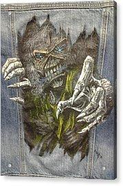 Eddie The Metal  'ed Acrylic Print by William Boehmer