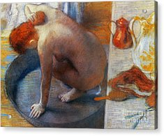 Edgar Degas: The Tub, 1886 Acrylic Print by Granger