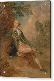 Edward Augustus Duke Of Kent Acrylic Print by Thomas Gainsborough
