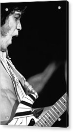 Edward Rocks Acrylic Print by Ben Upham