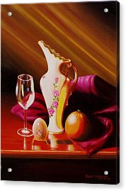 Egg And Things Acrylic Print by Gene Gregory