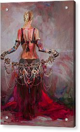 Egyptian Culture 17b Acrylic Print by Maryam Mughal