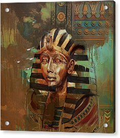 Egyptian Culture 52 Acrylic Print by Corporate Art Task Force