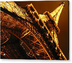 Eiffel Tower Paris France Acrylic Print by Gene Sizemore