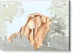 El Capitan Acrylic Print by Jim Green