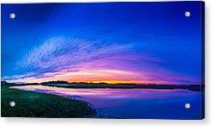 El Nino Sky Acrylic Print by Marvin Spates