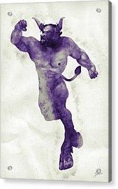 El Torito Guapo Acrylic Print by Joaquin Abella