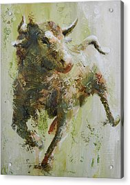 El Toro Acrylic Print by John Henne