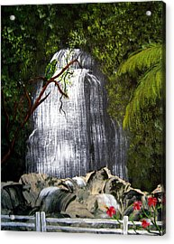 El Yunque  Acrylic Print by Gloria E Barreto-Rodriguez