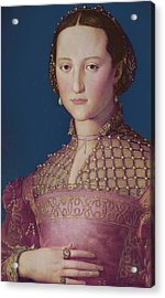 Eleonora Da Toledo Acrylic Print by Agnolo Bronzino
