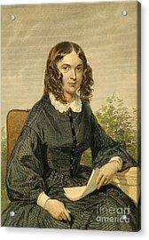 Elizabeth Barrett Browning Acrylic Print by Granger