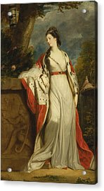 Elizabeth Gunning Duchess Of Hamilton And Argyll Acrylic Print by Joshua Reynolds