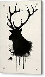 Elk Acrylic Print by Nicklas Gustafsson