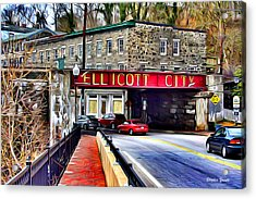 Ellicott City Acrylic Print by Stephen Younts