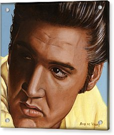 Elvis 24 1956 Acrylic Print by Rob De Vries