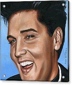 Elvis 24 1960 Acrylic Print by Rob De Vries