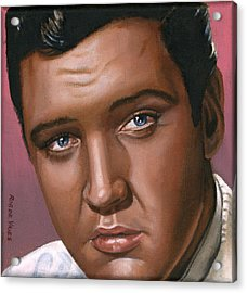 Elvis 24 1962 Acrylic Print by Rob De Vries