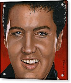 Elvis 24 1964 Acrylic Print by Rob De Vries