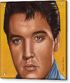 Elvis 24 1965 Acrylic Print by Rob De Vries