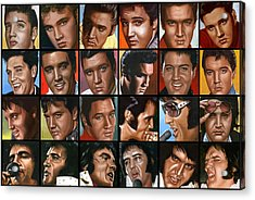 Elvis 24 Acrylic Print by Rob de Vries