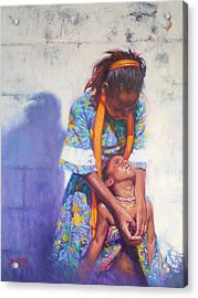 Emancipation Acrylic Print by Colin Bootman