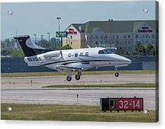 Embraer Emb-500 Acrylic Print by Guy Whiteley