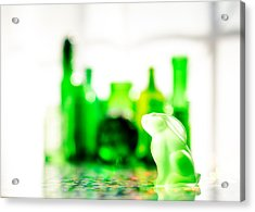 Emerald City V Acrylic Print by Jon Woodhams