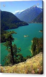 Emerald Lake Acrylic Print by Marty Koch