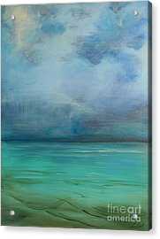 Emerald Waters Acrylic Print by Michele Hollister - for Nancy Asbell