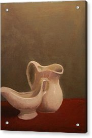 Emergence Of Ceramic Acrylic Print by Krishnamurthy S