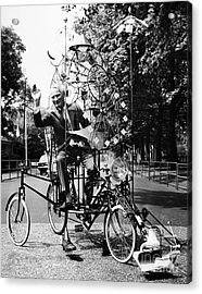 Emett: Lunacycle, 1970 Acrylic Print by Granger