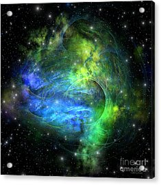Emission Nebula Acrylic Print by Corey Ford