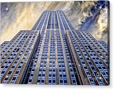 Empire State Building  Acrylic Print by John Farnan