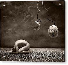 Emptiness Acrylic Print by Jacky Gerritsen