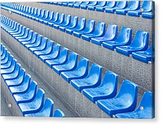 Empty Seats Acrylic Print by Boyan Dimitrov