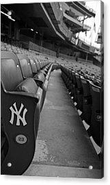 Empty Stadium Acrylic Print by Michael Albright