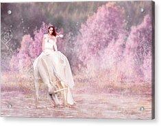 Enchanted  Acrylic Print by Pamela Hagedoorn