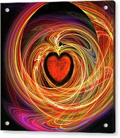 Encompassing  Love Acrylic Print by Michael Durst